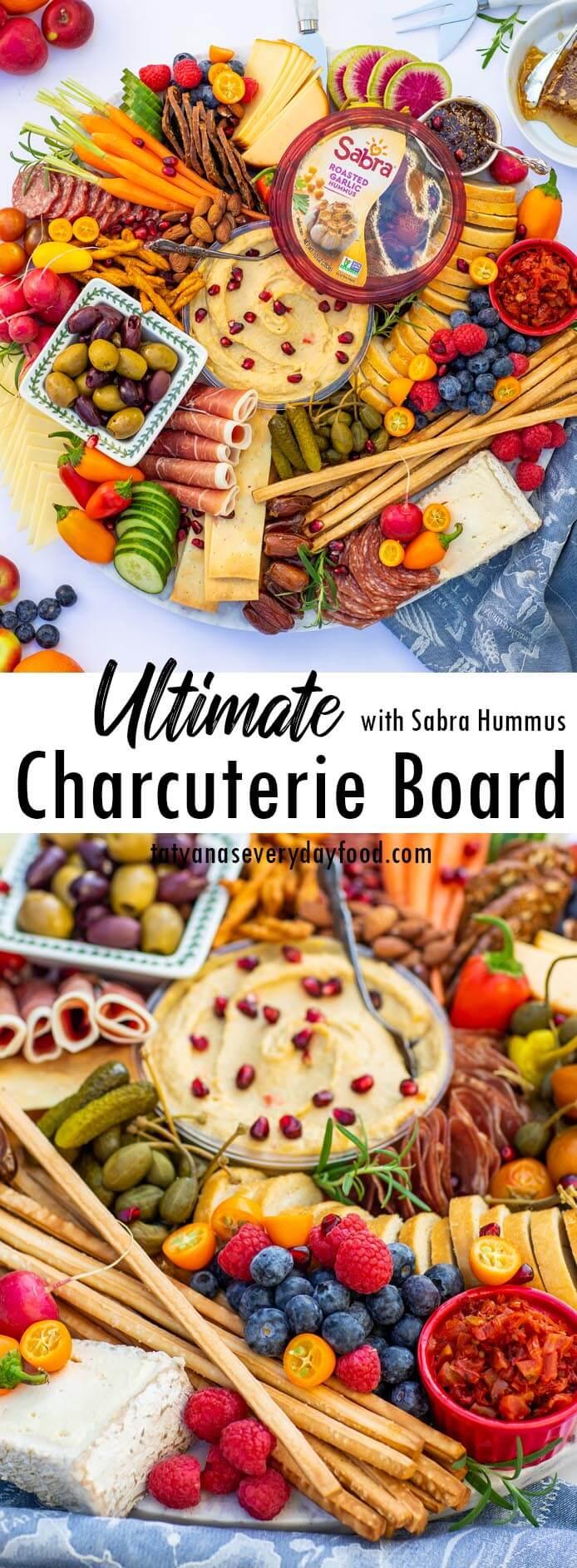 Ultimate Charcuterie Board with Sabra Hummus