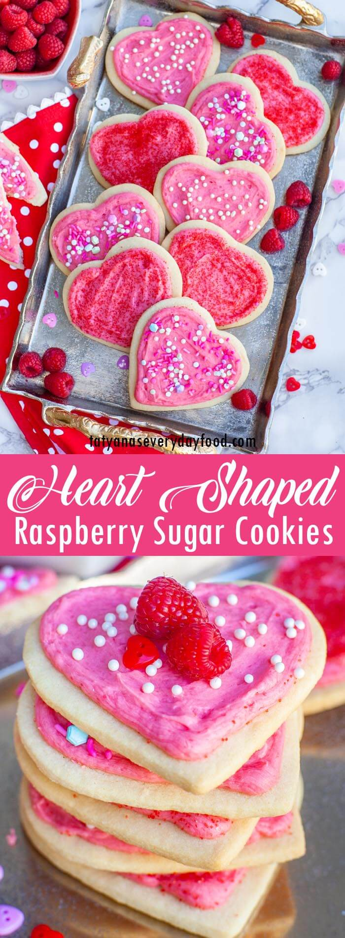 Valentine's Day Heart Sugar Cookies video recipe