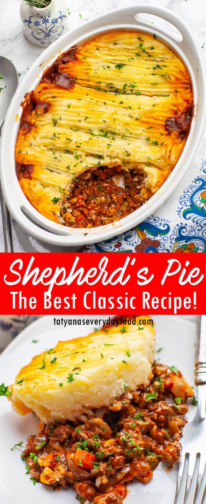 The Best Classic Shepherd's Pie video recipe